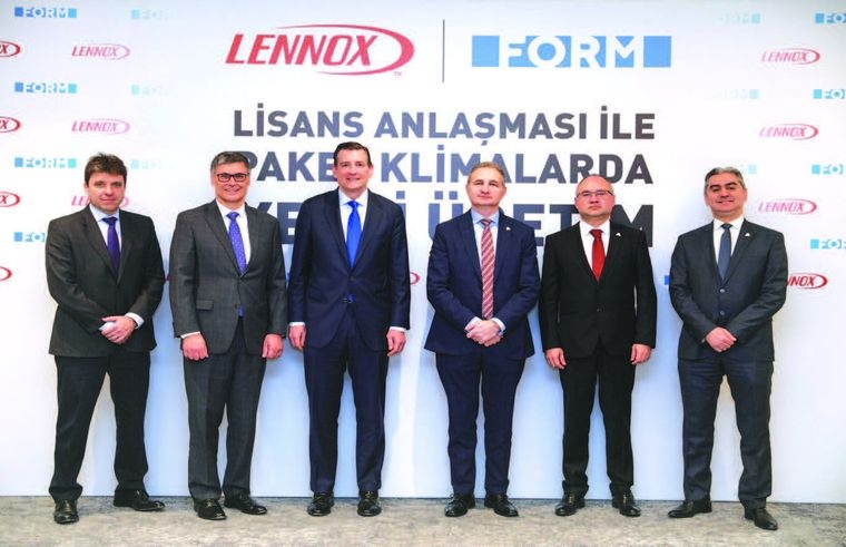Form Group of Companies and Lennox will Make Production in Izmir