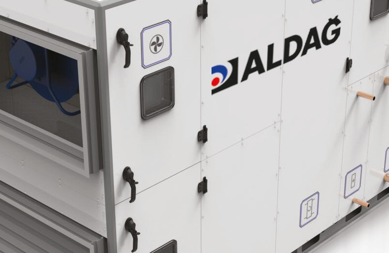 Great Success of ALDAĞ Inc. : Air Handling Units' TB1 (Thermal Bridging) -T2 (Thermal Conductivity) Values have been certified by Eurovent.