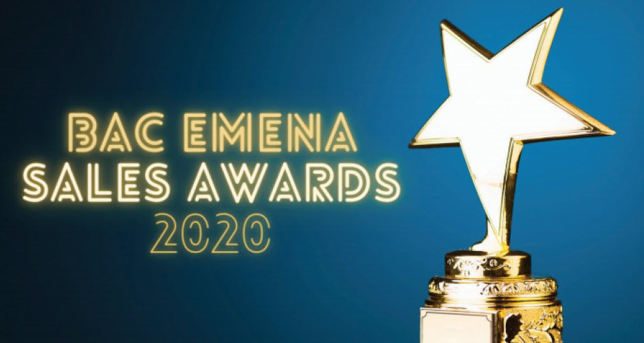 BRC Cooling Systems has been granted the BAC EMENA 2020 Sales Award