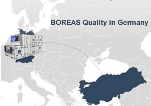 Boreas Quality Approved by Germany