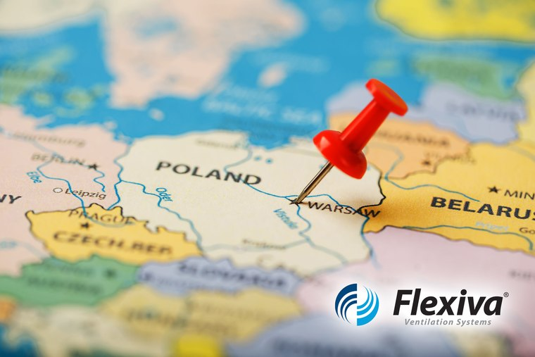 Flexiva Winds Blowing in Poland